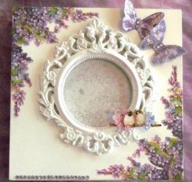 Caseta de bijuterii de lux Lilac de la