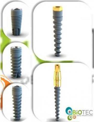 Implanturi dentare SPR, SPPT, CIM, ARP, ARC de la Biotec Implant