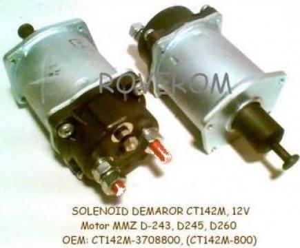 Solenoid demaror (CT142M, 12V), Motor MMZ D-243, D245, D260