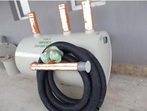 Fosa septica ecologica 4 camere Imhoff 2600 litri 4/6