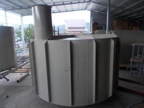 Rezervor subteran vertical 8000 litri de la Eco Rotary SRL