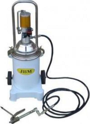 Pompa pneumatica gresare vaselina 12 litri-17 kg