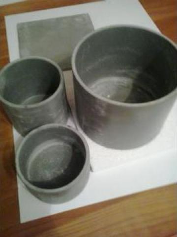 Creuzet cilindric pe baza de carbura de siliciu (SiC)