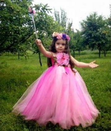 Rochita de carnaval fetite Zana Florilor 231 de la Sabine Decor Shop Srl-d