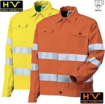 Jacheta de protectie Hi-Viz 8445 de la Vikmar Serv