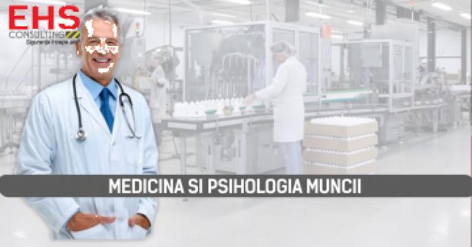 Medicina si Psihologia muncii de la EHS Consulting