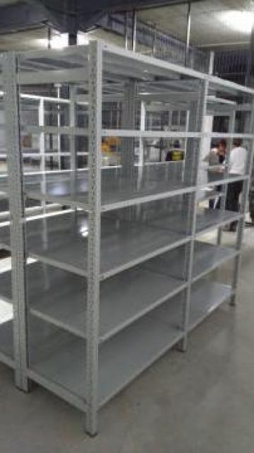 Rafturi metalice cu polite 500*1200*3000H-6NIV de la Racks Metal Srl