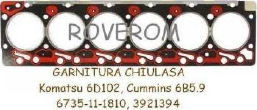Garnitura chiuloasa Komatsu 6D102, Cummins 6B5.9