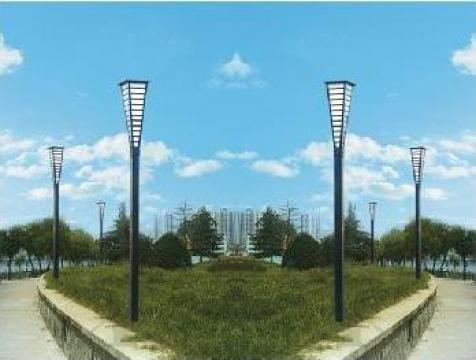 Stalp iluminat ornamental, H=3m, fara sursa de iluminat de la Palagio System Group