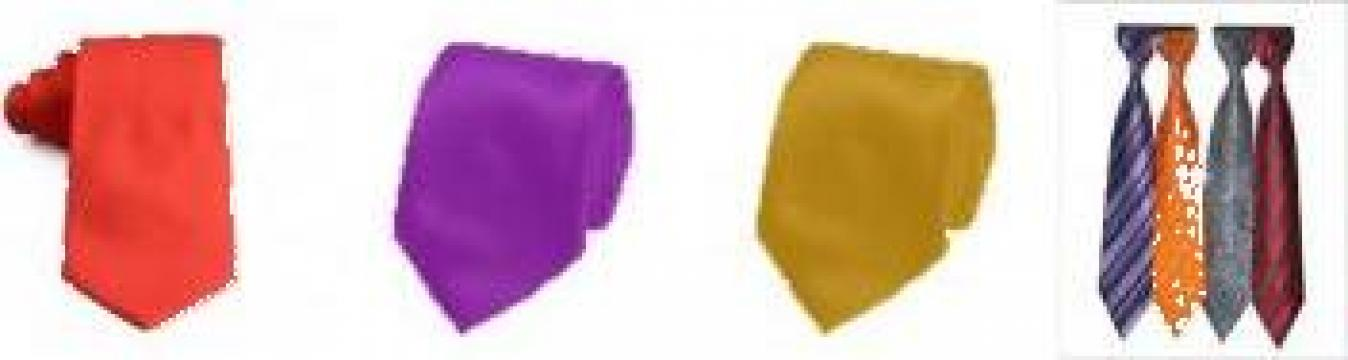 Cravate colorate din matase