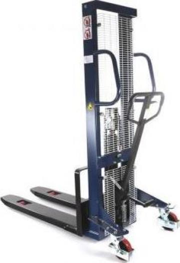 Stivuitor manual pietonal HaBa10HH16, 1000kg