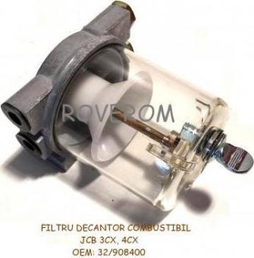 Filtru decantor combustibil JCB 3CX, JCB 4CX