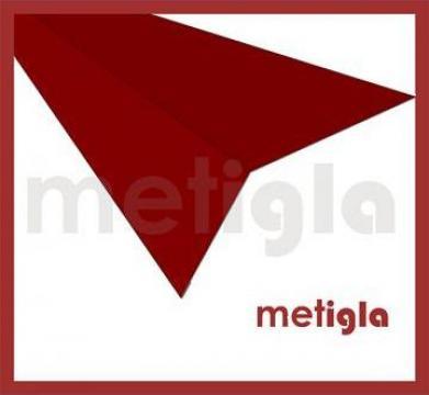 Bordura rupere panta pentru acoperis Metigla de la Executie Acoperisuri - Www.executie-acoperisuri.ro