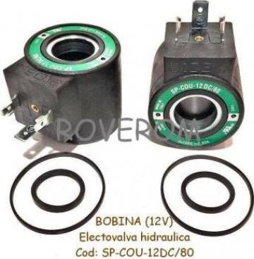 Bobina 12V, D18x38mm, electrovalva hidraulica de la Roverom Srl