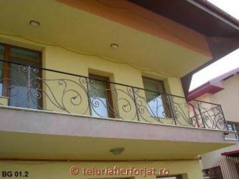 Balcon fier forjat BG 01 de la Teluria S.r.l.
