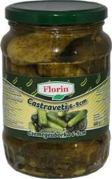Castraveti murati Florin 6-9cm 720ml de la Lorimod Prod Com Srl