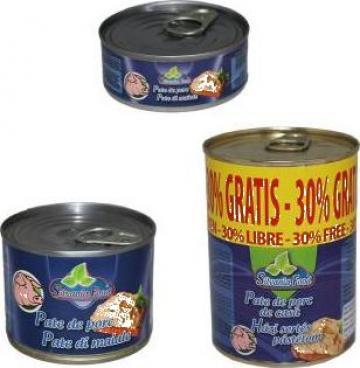 Conserva pate de porc Silvania Food