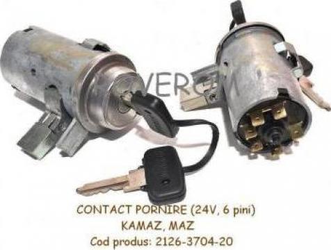 Contact pornire 24v, 5 pini, Kamaz, Maz, euro 2, 3