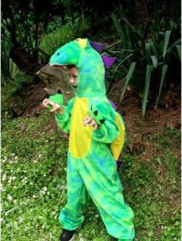 Costum dragon, dinozaur copii 594 de la Sabine Decor Shop Srl-d