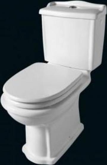 Vas WC Retro cu rezervor si capac de la SC Anima Augusta Com SRL