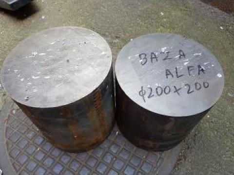 Bara fonta GG25 (FC250) fi 200 x lungime 200 mm de la Baza Tehnica Alfa Srl