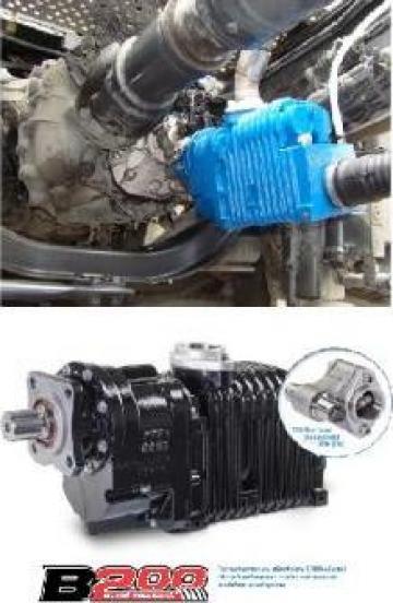 Compresoare de aer cu surub pentru transfer lichide de la Ardor Vehicule Industriale Srl.