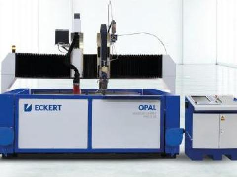 Masina CNC debitare plasma si jet de apa Opal WaterJet Combo