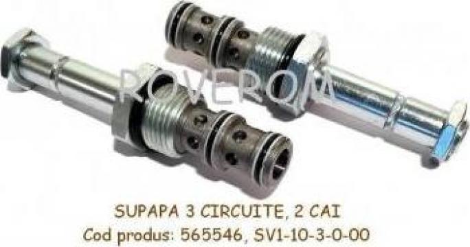 Supapa hidraulica Vikers/Eaton 565546S, SV1-10-3-0-00 de la Roverom Srl