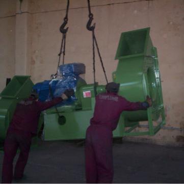 Ventilatoare industriale din otel