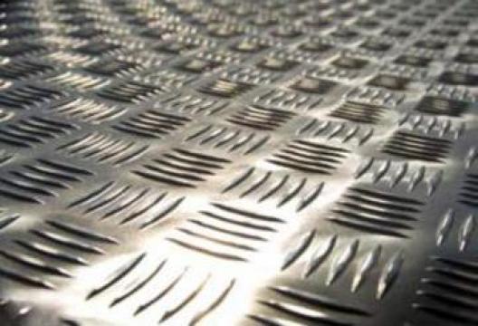 Tabla striata aluminiu 3.0x1000x2000 mm