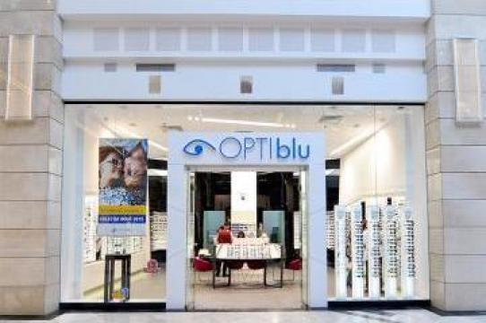 Fatade sticla pentru optica medicala Optiblu de la Landscape