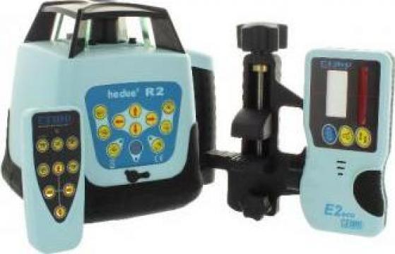 Laser rotativ Hedue R2 clasa II cu receptor E3 de la Anysol Concept Srl