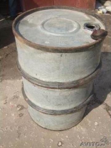 Butoaie cu cercuri tabla zincata 200 litri