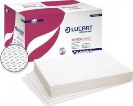 Lavete hartie pliate Lucart Airtech 38x58 de la Best Distribution Srl