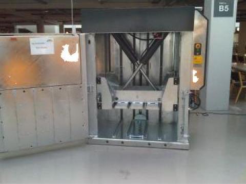 Presa de balotat carton, folie, PET X25 de la Sc Schuster Recycling Technology Srl