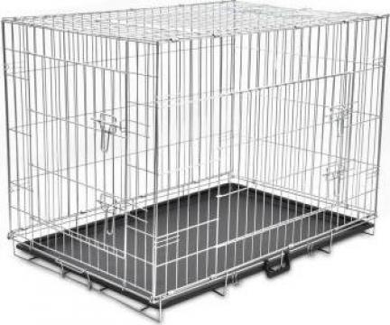 Cusca pliabila pentru caini, marime XL de la Vidaxl