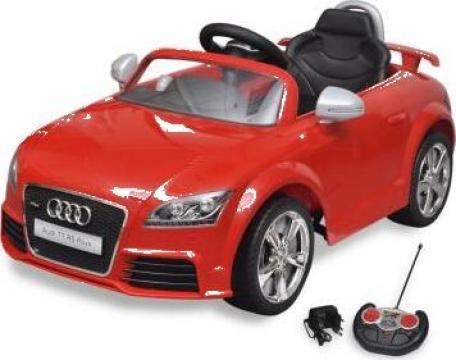 Jucarie masina Audi TT RS pentru copii cu telecomanda, rosu de la Vidaxl