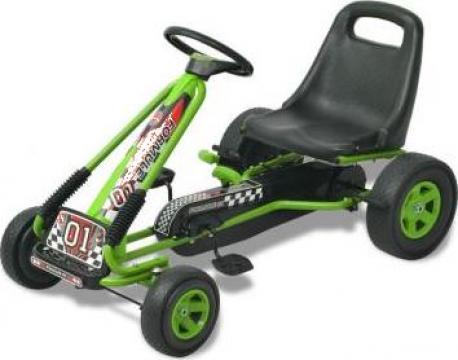 Jucarie kart cu pedale cu sezut reglabil verde