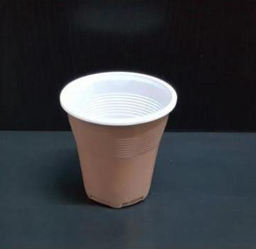 Pahar plastic bicolor 160cc 100 buc/set de la Cristian Food Industry Srl.
