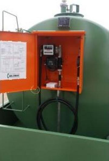 Rezervor bazin statie motorina de la Tehnica Mobila Oil