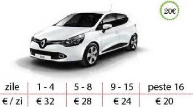 Inchirieri auto Timisoara - Renault Clio de la West Rent A Car