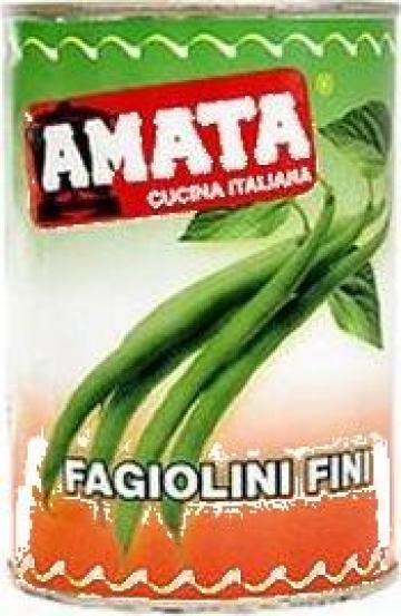 Conserva fasole verde pastai Amata de la S.c. Italin Gross Impex S.r.l.