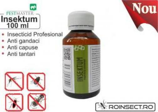 Insecticid universal solutie anti gandaci Insektum 100 ml de la Agan Trust Srl