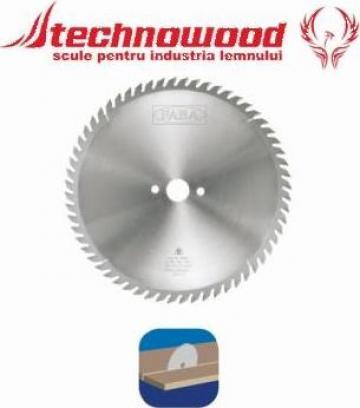 Panza circulara cu dinte forma butoi de la Technowood Srl