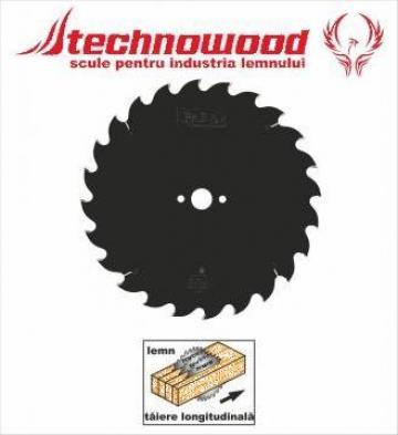 Panza circulara speciala pentru lamele de la Technowood Srl