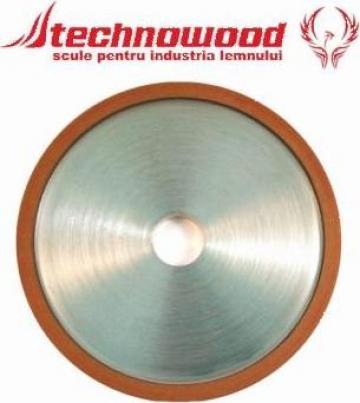 Disc diamantat de ascutit 4A2/10 de la Technowood Srl