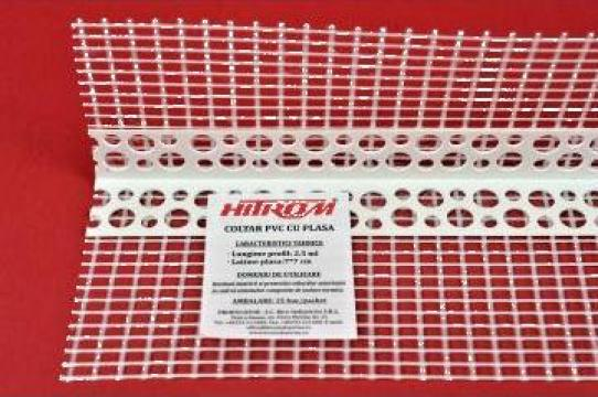 Coltare PVC/aluminiu cu plasa din fibra de sticla de la Bico Industries Srl