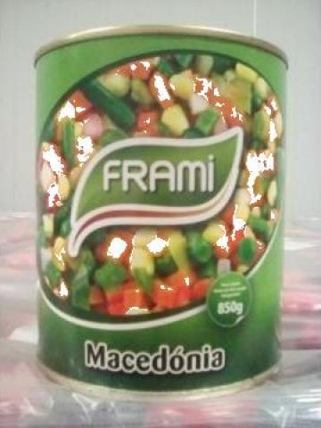 Conserva amestec de legume macedonean