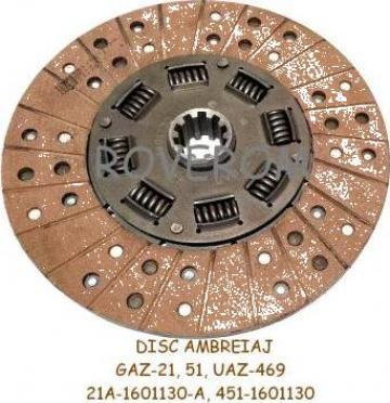 Disc ambreiaj GAZ-21, GAZ-51(63, 63A), UAZ-469