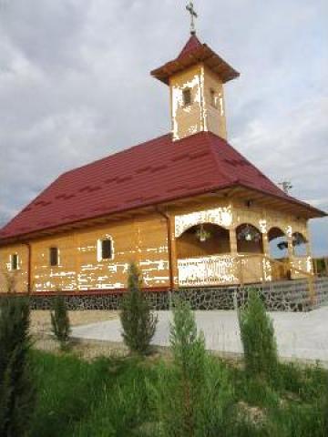 Biserica din lemn Satu Mare C 250 de la Sc Home Lemn Srl